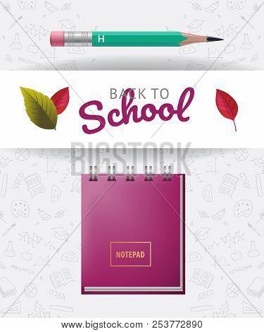 Back School Lettering Vector & Photo (Free Trial) | Bigstock