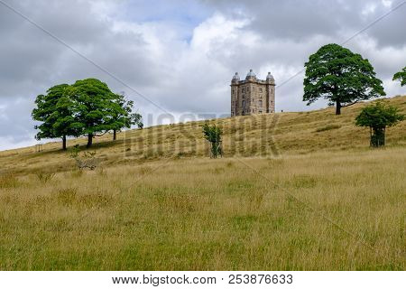 The Cage Tower, National Trust Lyme, In The Peak District, Cheshire, Uk