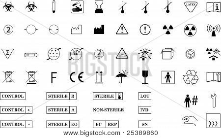 International Medical Symbols