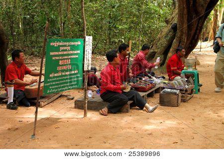 Cestování v chrám Ta Prohm