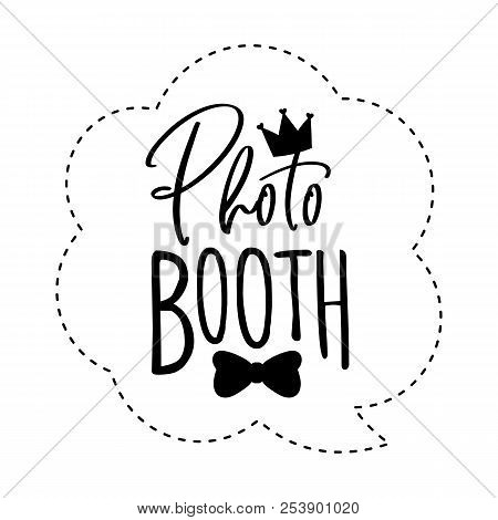 Photo Booth Photobooth Props Sign Or Icon.
