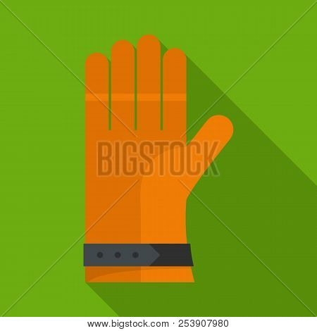 One Glove Icon. Flat Illustration Of One Glove Icon For Web