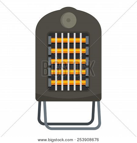 Portable Heater Icon. Flat Illustration Of Portable Heater Icon For Web