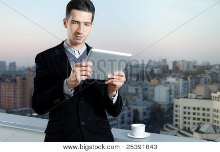Businessman On Coffee Break