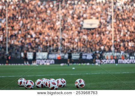 Uefa Champions League Third Qualifying Round , Between Paok Vs Fc Spartak Moscow