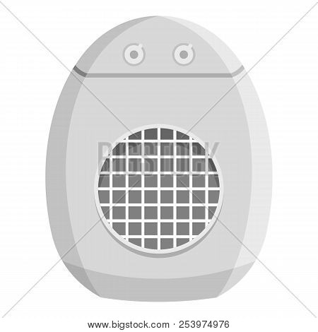 Portable Conditioner Icon. Flat Illustration Of Portable Conditioner Icon For Web
