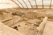 Catalhoyuk is large Neolithic and Chalcolithic best preserved city settlement in Cumra, It is oldest town in world in Konya. It was built in about 7500 BC poster
