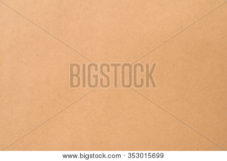 Brown Kraft Paper Background. Eco Friendly Recycled Materials.