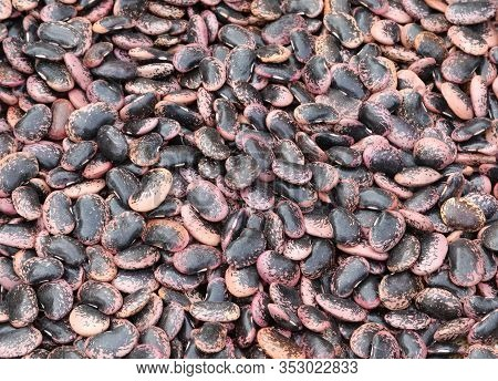 Beans Called In Italian Fagioli Del Diavolo Which Means The Devil Beans For Sale In Vegetable Market