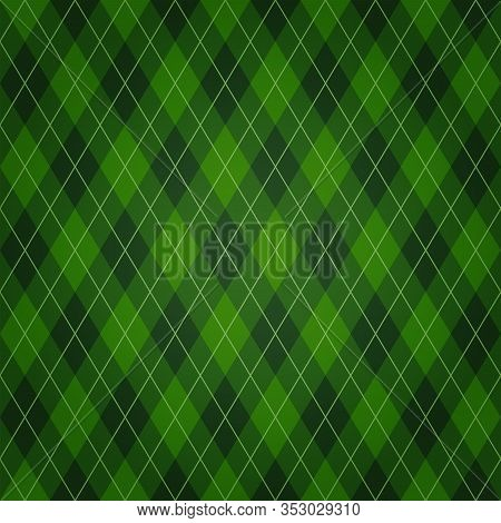 Vector Seamless Green Background For Saint Patricks Day