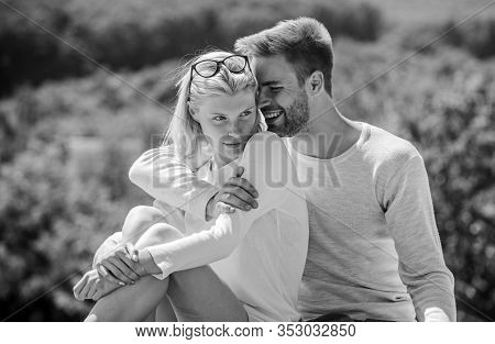 Enjoyment. Summer Romance. Family Love. Love Story. Romantic Relations. Couple In Love. Man And Woma