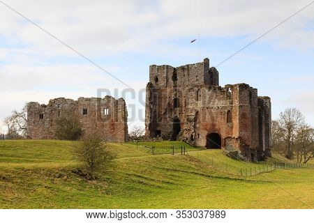 Brougham, England - February 24:  Brougham Castle Is Situated South East Of Penrith, Cumbria, Northe