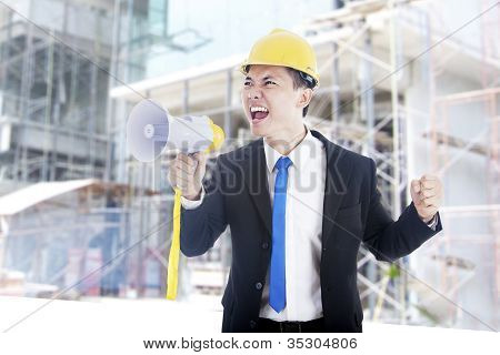 Spirit Of Engineer Giving Command