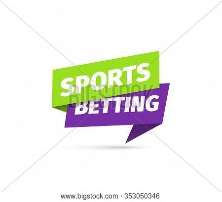 Sports Betting Isolated Vector Icon. Sticker For Online Bets