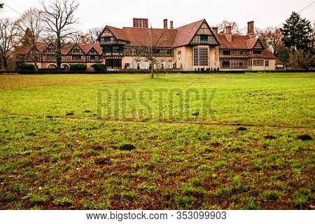 Schloss Cecilienhof In The Autumn, Potsdam, Germany.