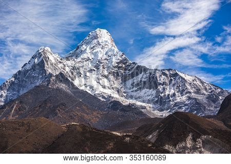 Ama Dablam Mountain. Nepal, Sagarmatha National Park