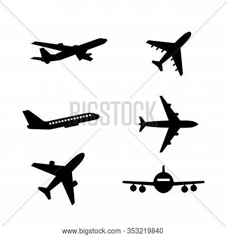 Set Of Airplane Icon. Airplane Icon Pack. Airplane Web Icon. Airplane Icon Picture. Airplane Icon Im