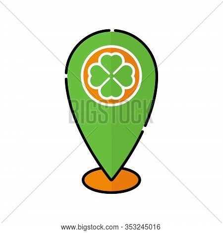 St. Patricks. St. Patricks icon. St. Patricks vector. St. Patricks Maps icon vector. St. Patricks symbol. St. Patrick's Day icon. St. Patricks web icon. St. Patrick's Day vector icon trendy flat symbol for website, sign, mobile, app, UI.