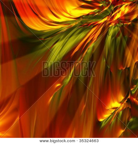 Colorful Background With Beams