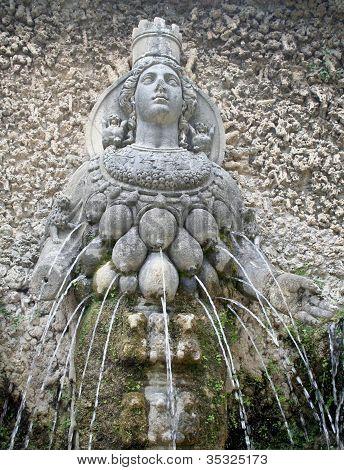 Goddess Diana Fountain