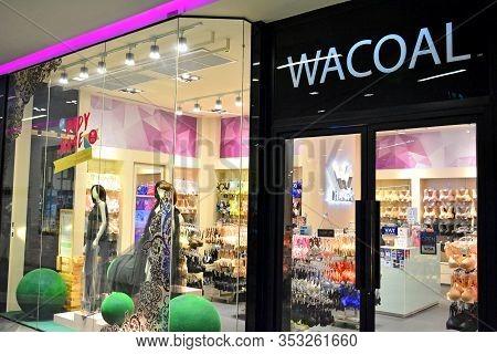 Bangkok, Th - Dec. 13: Wacoal Facade On December 13, 2016 In Siam Square One, Pathum Wan, Bangkok, T