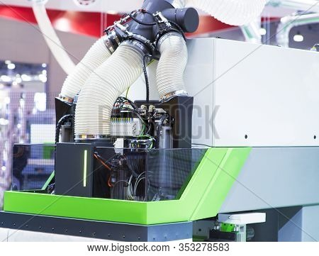 Cnc Milling Machine. Milling And Engraving Installation. Cnc Woodworking Machine. Machine For High-q