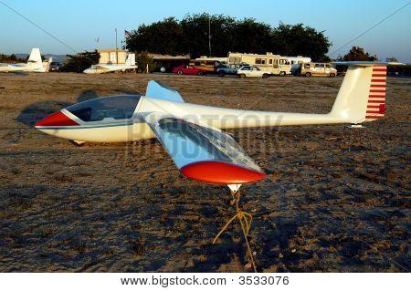 Sailplane Awaiting Flight