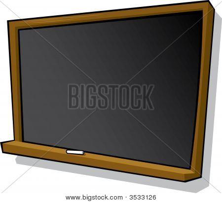 Cartoon Blackboard