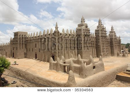 Great Mosque Djenne