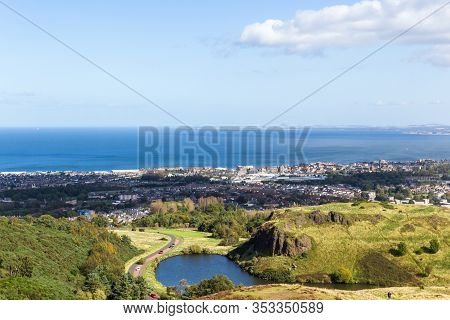 Beautiful View In Holyrood Park