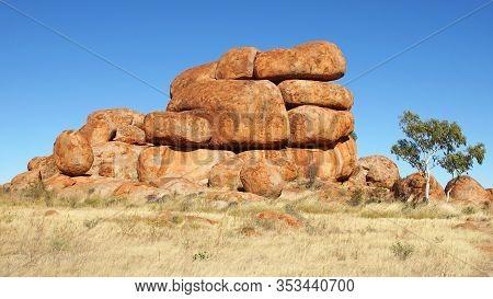 Devils Marbles, Stuart Highway, Northern Territory, Australia