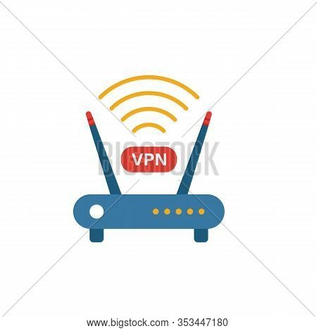 Vpn Router Icon. Simple Element From Icons Collection. Creative Vpn Router Icon Ui, Ux, Apps, Softwa