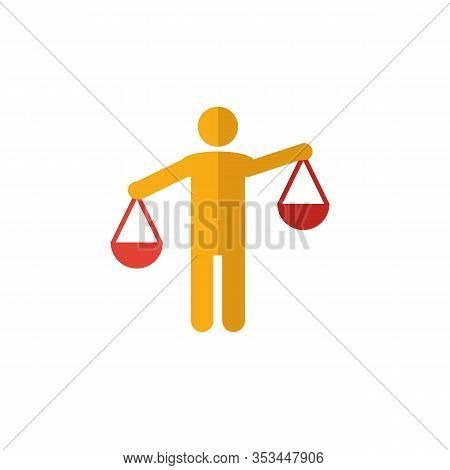Solicitor Icon. Flat Creative Element From Business Management Icons Collection. Colored Solicitor I