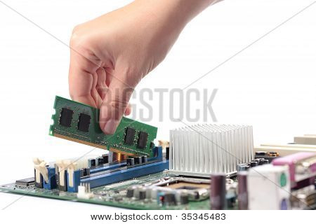 Computer mainboard and memory