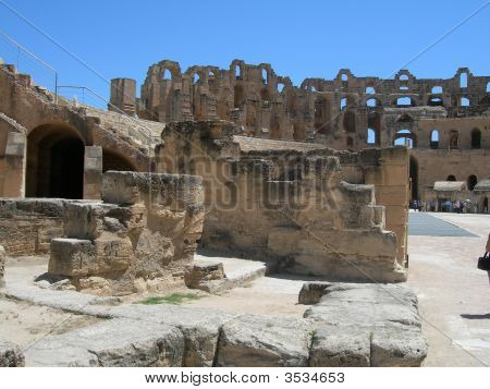 Colosseum Of Tunisia