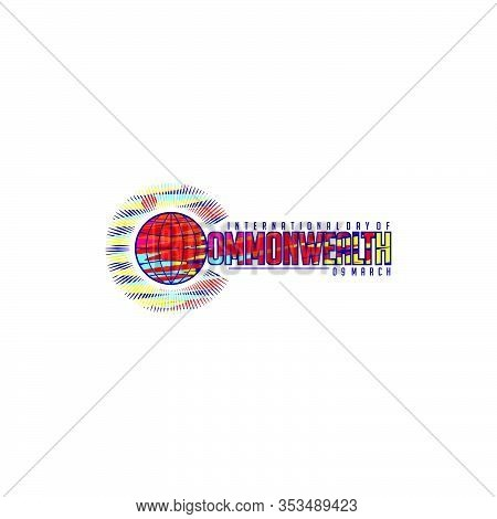 Colorful Commonwealth Day Vector Illustration For Template Design