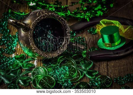 St. Patricks Day Composition.
