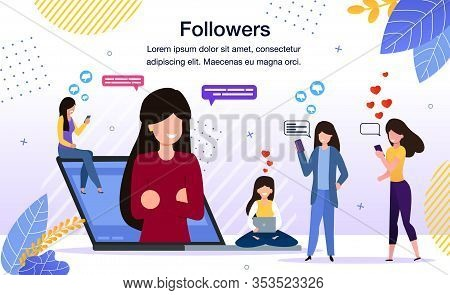 Internet Audience Reaction, Blogger Follower Feedback, Social Network User Opinion, Subscribers Posi