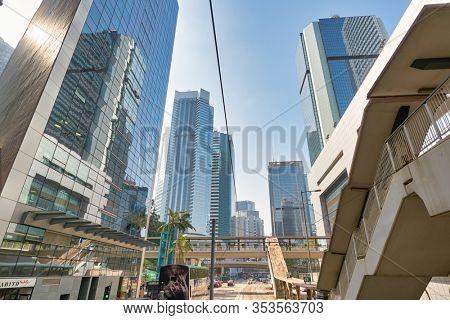 HONG KONG, CHINA - CIRCA JANUARY, 2019: view of Hong Kong at daytime.