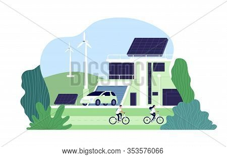 Alternative Energy. Environmental City, Solar Energy. Bio Resource Elements, Alternative Smart Renew