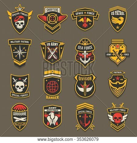 Military Army Chevrons, Us Patrol Aviation Forces