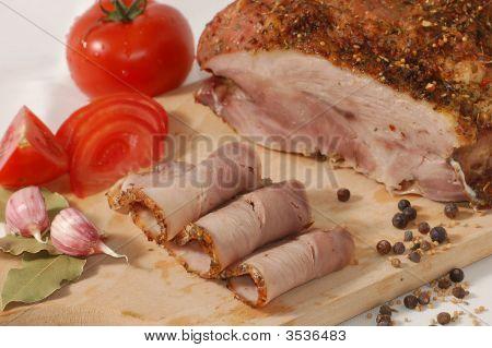 Baked Pork Shoulder