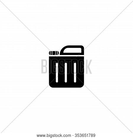 Jerry Can. Vector Simple Modern Icon Design Illustration.