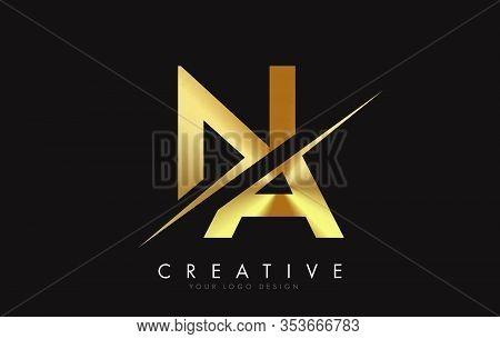 Na, N, A, Letter, Singular, Logo, Corporate, Business, Concept, Vector, Sign, Symbol, Template, Elem