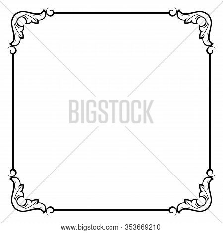 Save Download Preview Frame Decoration, Frame Decoration Border Frame, Carving Pattern Ornament Fram