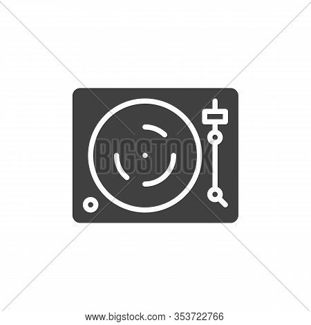Dj Turntable Vector Vector & Photo (Free Trial) | Bigstock