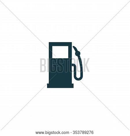 Gas Station. Vector Symbol Car Refueling. Vector Illustration