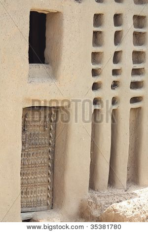 Dogon Door in Dogonland, Mali, West Africa