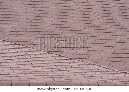 tiles of a roof