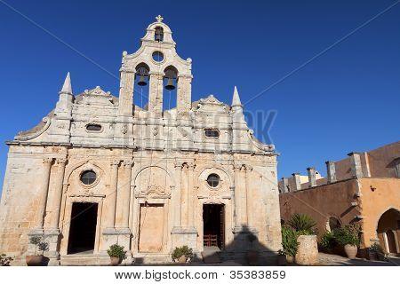 Arkadiou monastery at Crete, Greece